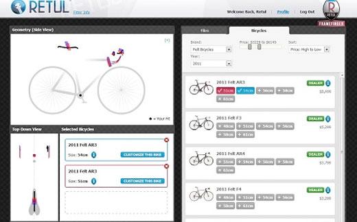 Velocraft Frame Finder Bike Fitting